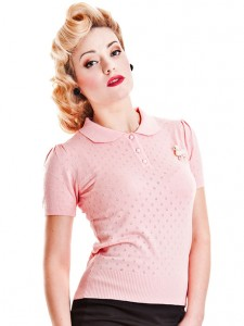 Freddie knitted top - Collectif - £34.50