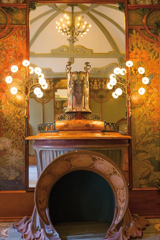 Le bijoutier Georges Fouquet in the Musée Carnavalet