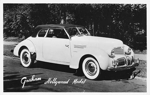 1940 Graham Hollywood Convertible