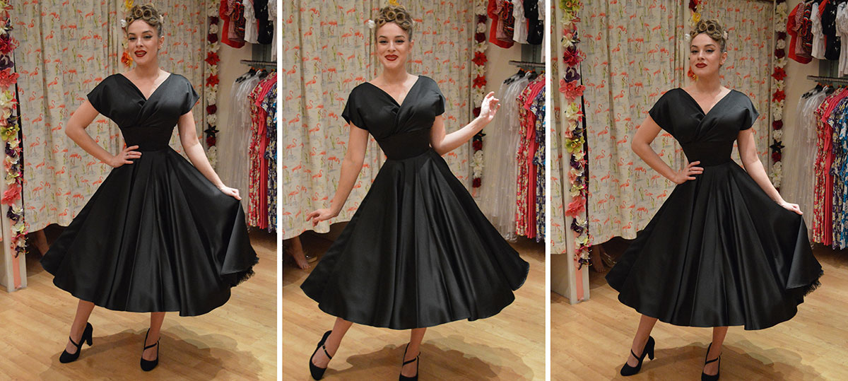 453eb6bb406 Review: Vivien of Holloway Grace Duchess Satin Dress - In Retrospect ...