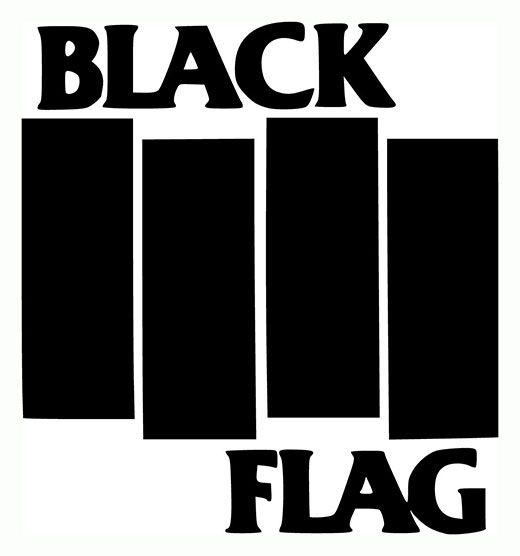 Black Flag Logo by Raymond Pettibon