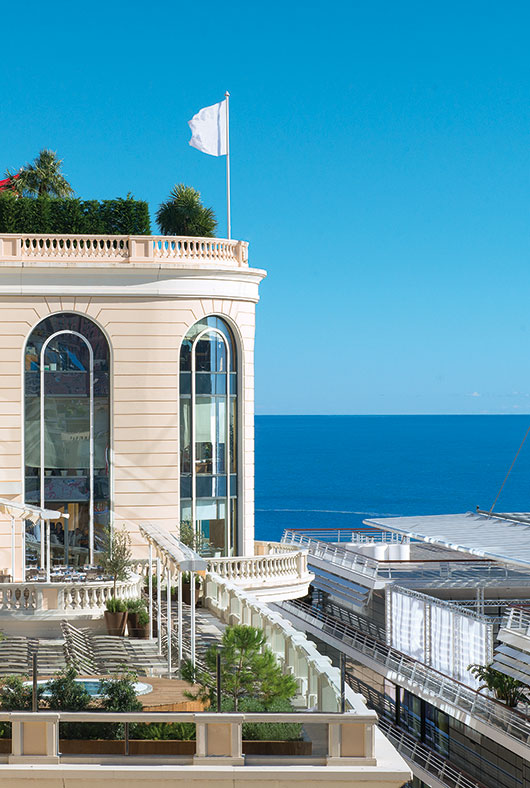 Thermes Marins Monte-Carlo, Monaco. Image courtesy of Monaco Press Centre Photos