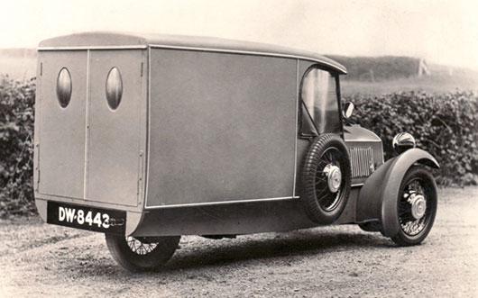 1930 Morgan Runabout van