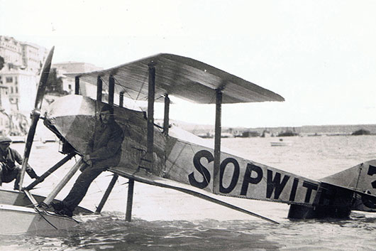 British Sopwith Tabloid - 1914