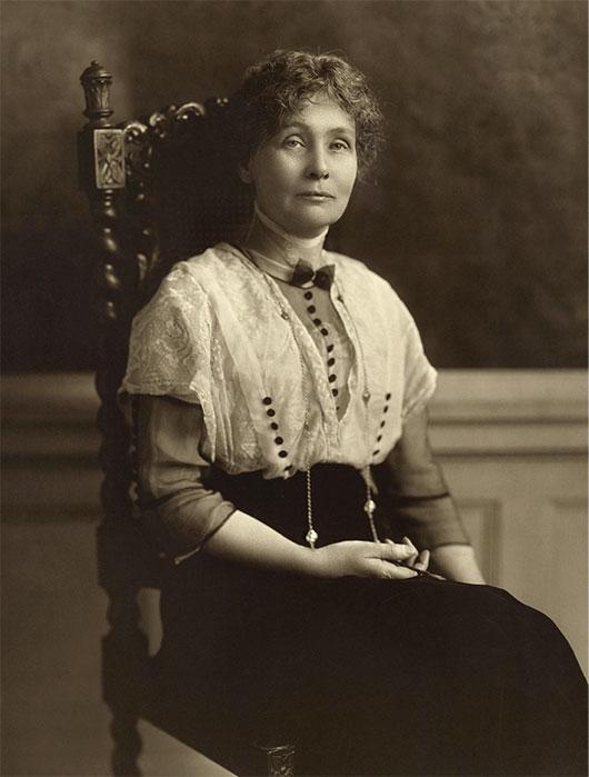 Emmeline Pankhurst in 1913