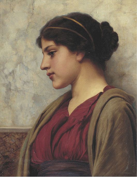 Classical Beauty by John William Godward (1892)